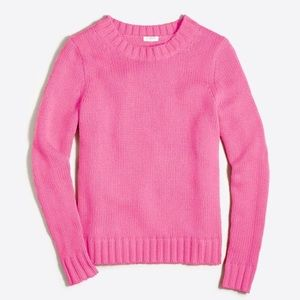 J. Crew Factory Marnie Sweater in Hot Pink